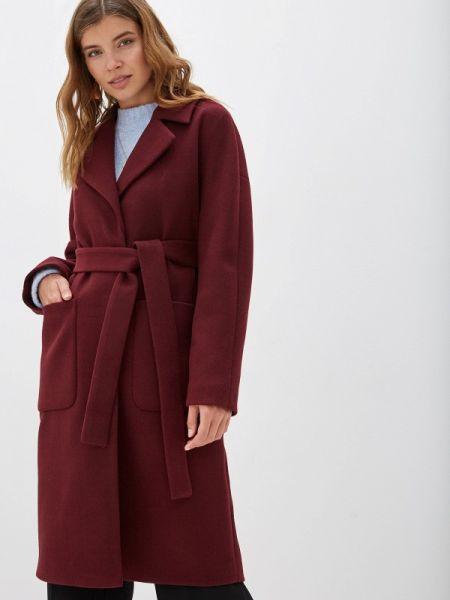 Пальто демисезонное бордовый Paradox