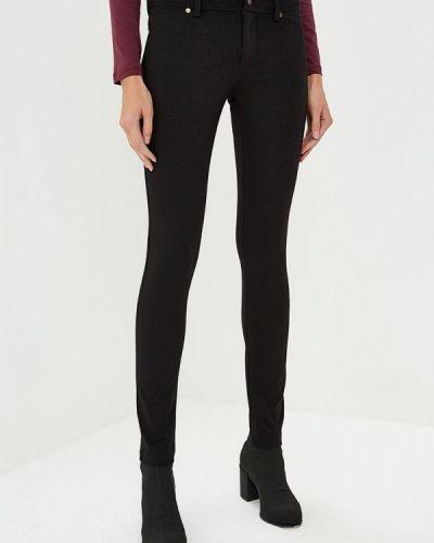 Черные брюки повседневные Versace Jeans