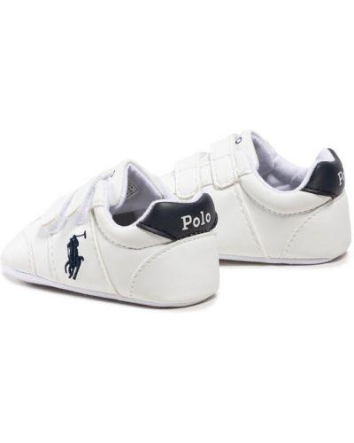 Białe joggery Polo Ralph Lauren