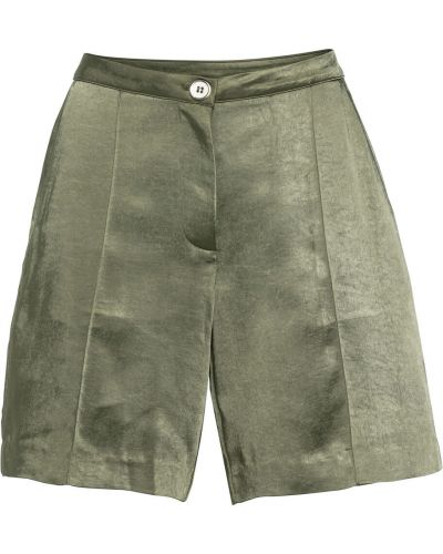 Зеленые брюки с карманами Bonprix