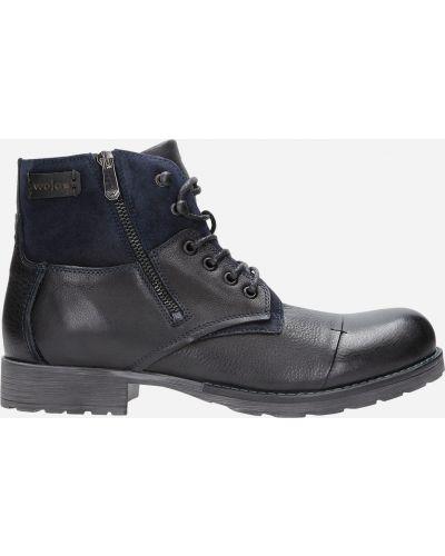 Ботинки - черные Wojas