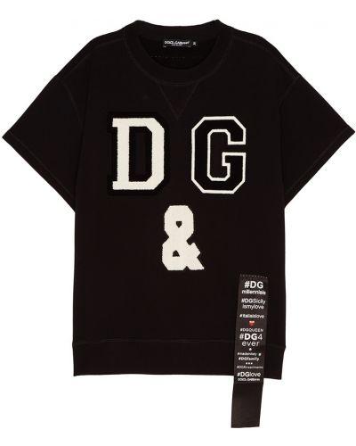 Черный свитшот Dolce&gabbana