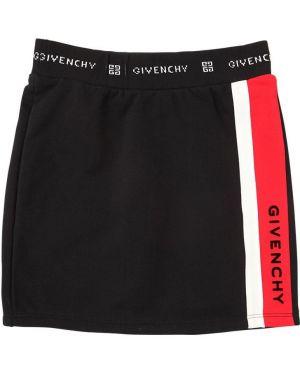 Czarna spódnica bawełniana Givenchy