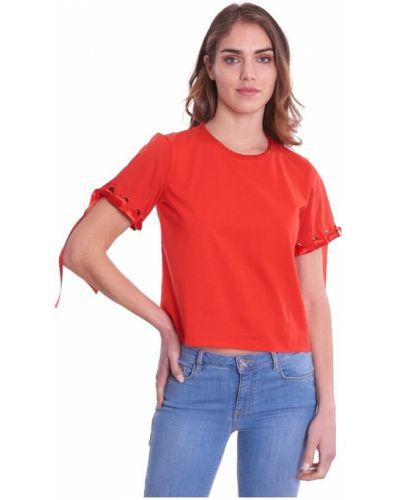 Czerwona t-shirt Luckylu