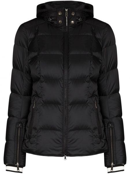 Klasyczna czarna kurtka z kapturem Bogner