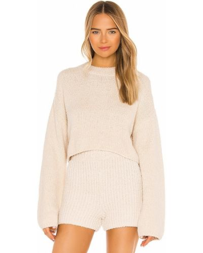 Bawełna światło bawełna pulower One Grey Day