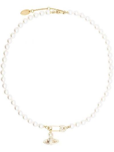 Ожерелье с жемчугом Vivienne Westwood