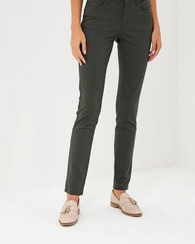 Зеленые брюки повседневные Vis-a-vis