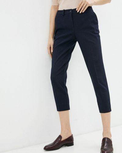 Зауженные синие брюки энсо