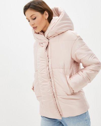 Утепленная розовая куртка Trendyangel