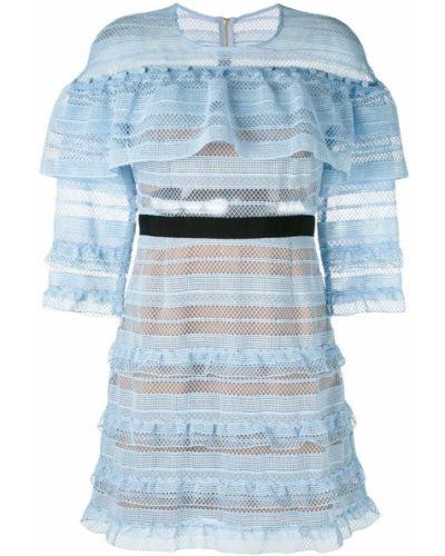 Платье платье-солнце расклешенное Self-portrait