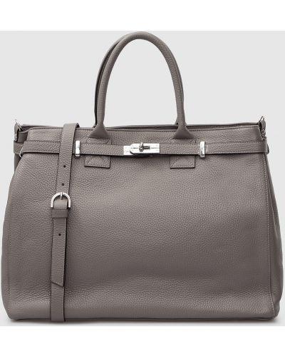 Кожаная сумка - серая Gianni Notaro