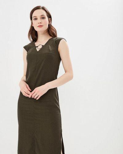 Платье зеленый хаки Bezko