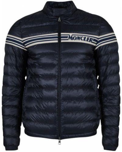 Niebieska kurtka puchowa Moncler