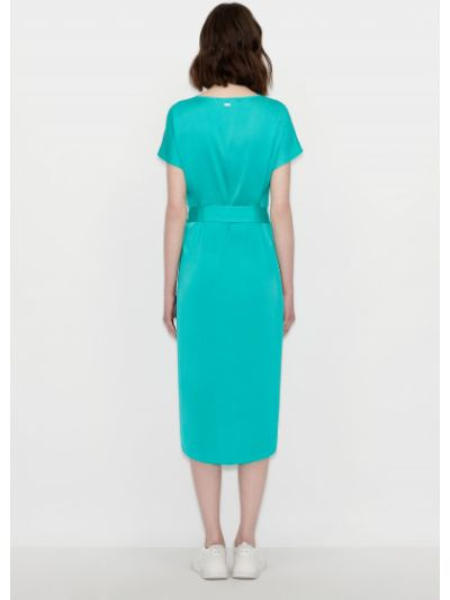 Зеленое платье Armani Exchange