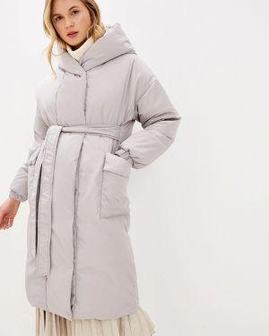 Зимняя куртка осенняя серая Odri Mio