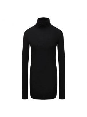 Шерстяная водолазка - черная Isabel Benenato