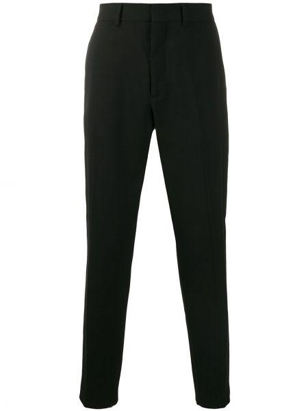 Klasyczne czarne spodnie klasyczne wełniane Mcq Alexander Mcqueen