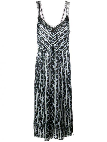 Платье миди деловое шелковое Jason Wu