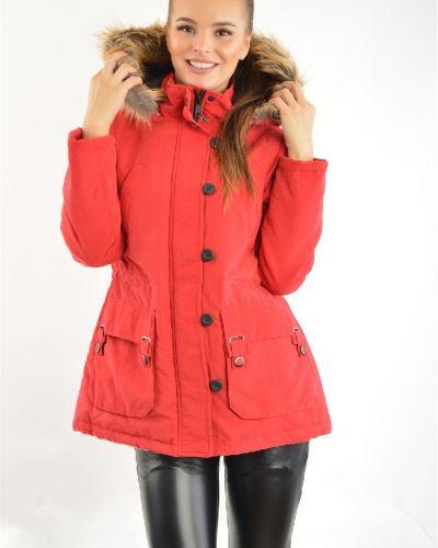 Зимняя куртка красная с подкладкой Urban Republic