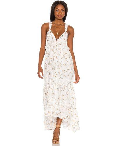 Белое платье с вышивкой Tularosa
