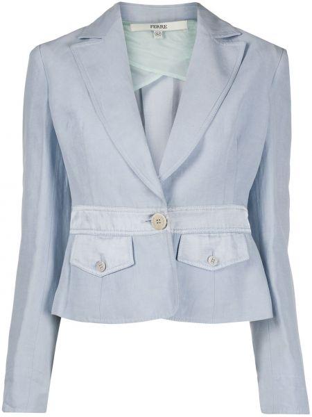 Классический пиджак приталенный узкий Gianfranco Ferre Pre-owned