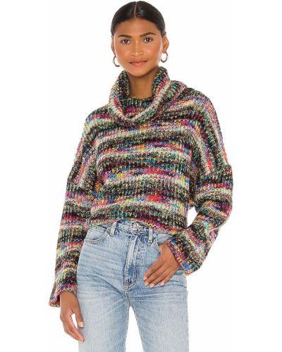 Różowy sweter z akrylu Lovers + Friends