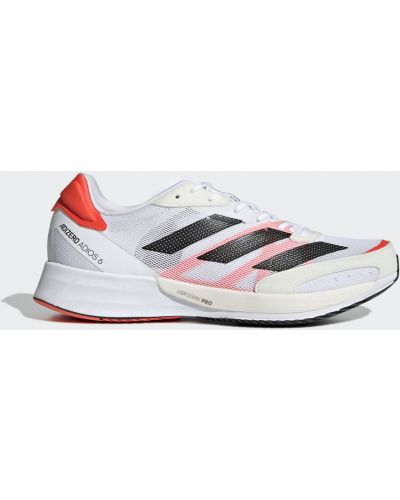 Красные кроссовки для бега Adidas