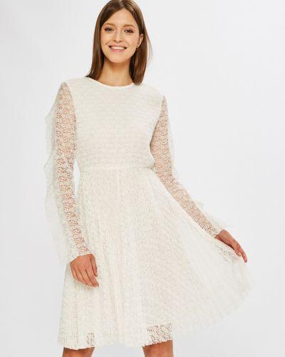 Платье мини однотонное расклешенное Miss Sixty