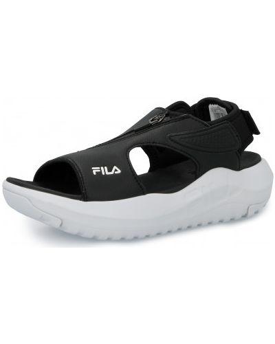 Черные сандалии Fila