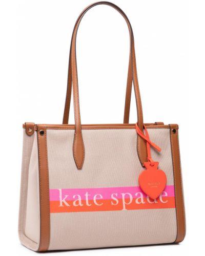 Beżowa torebka Kate Spade