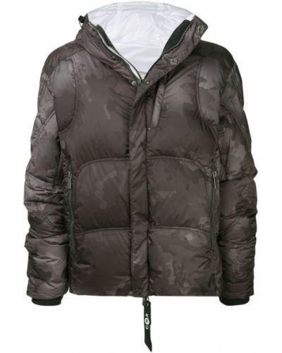 Куртка с капюшоном с вырезом Kru