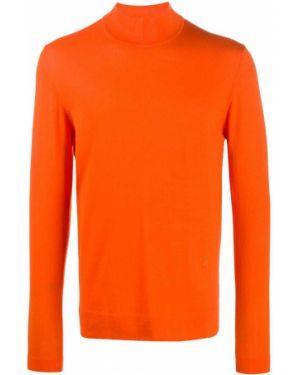 Джемпер с вышивкой - оранжевый J.lindeberg