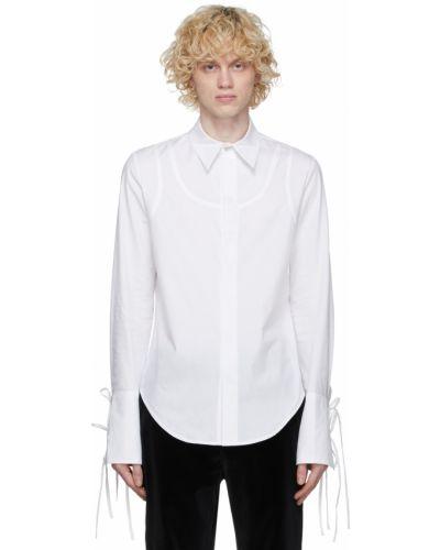 Biała koszula z długimi rękawami - biała Palomo Spain