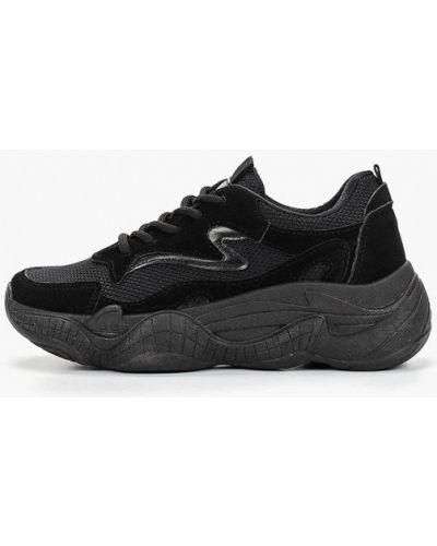 Текстильные кроссовки - черные Dino Albat