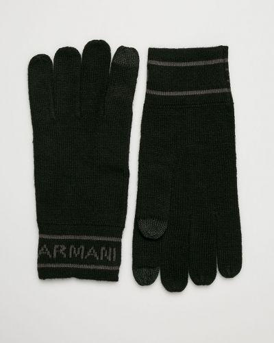 Rękawiczki wełniany akryl Armani Exchange