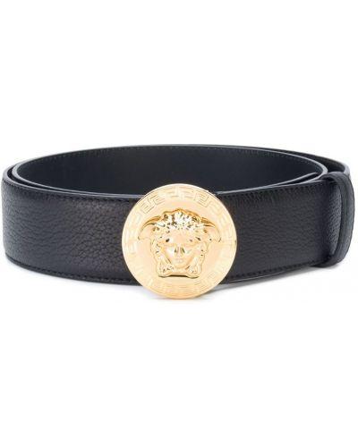 Ремень кожаный с пряжкой Versace