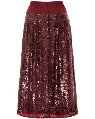 Jedwab światło spódnica z cekinami Tibi