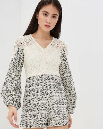 Комбинезон с шортами белый Danity