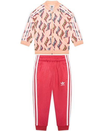 Różowy dres Adidas