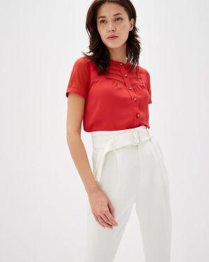 Блузка с коротким рукавом весенний красная Yuna Style