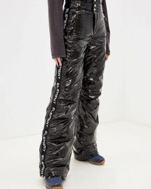 Утепленные брюки - черные Odri