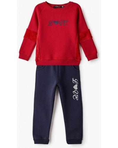 Костюмный красный спортивный костюм Dali