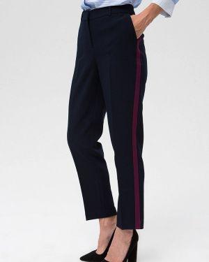 Классические брюки синие Ostin