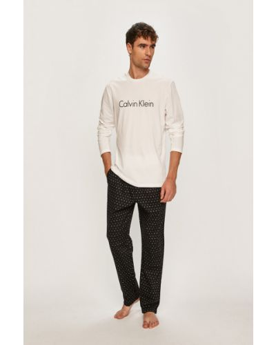 Пижама с принтом белый Calvin Klein Underwear