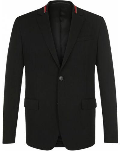 Пиджак приталенный однобортный Givenchy