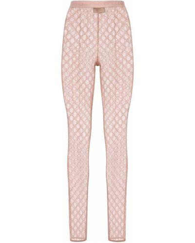 Legginsy - różowe Gucci