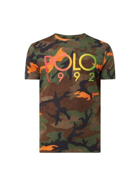 Bawełna bawełna koszula z dekoltem okrągły Polo Ralph Lauren
