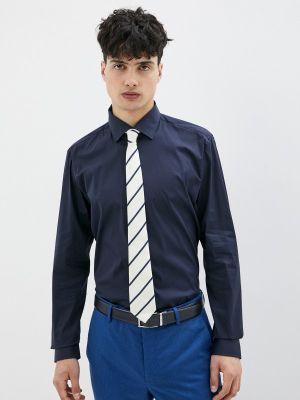 Синяя рубашка с длинными рукавами Strellson