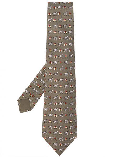 Jedwab krawat średni Hermes